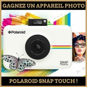 concours polaroid snap touch