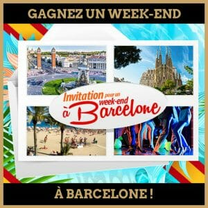 concours week-end barcelone