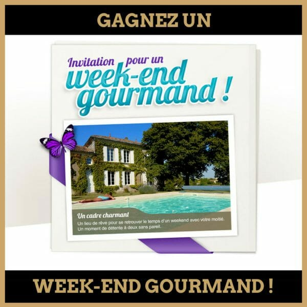 concours week end gourmand