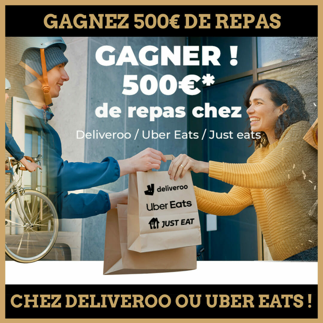 concours deliveroo uber eats